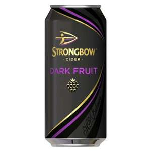 15 cans Strongbow Darkfruits £6.72 at Sainsburys Nottingham