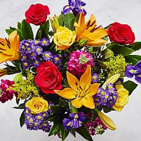 40% off The Ratatouille Bouquet £23.99 + Free Delivery with Voucher Code @ Serenata Flowers