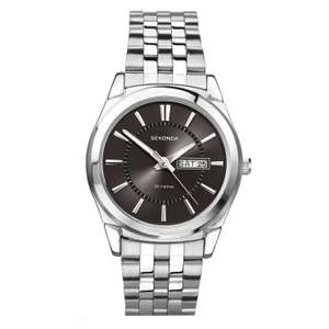 Sekonda Men's Black Dial And Stainless Steel bracelet Watch £17.99 (free click + collect) @ H Samuel