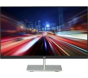 """JVC LT-24CM79W Full HD 23.8"""" IPS Monitor - White, £75.24 at Currys clearance/ebay with code"""