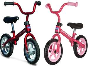 Chicco Bullet Balance Bike Red or Pink - £25.95 @ Amazon
