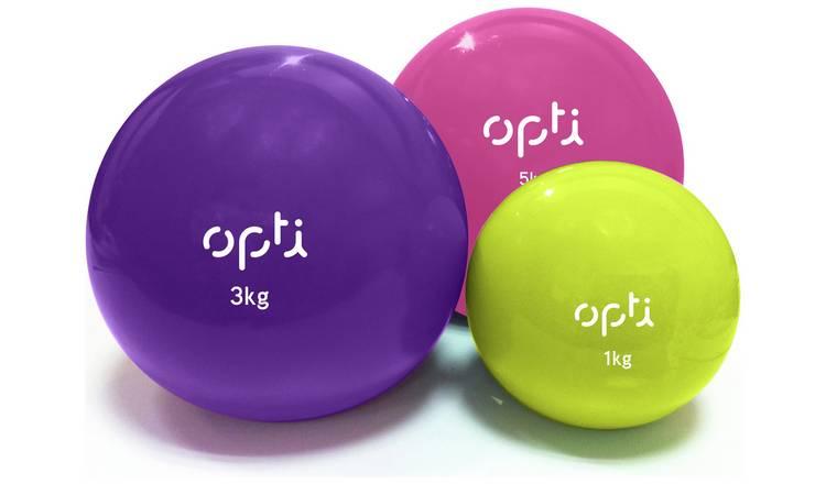 Opti Medicine Ball – Set of 3 £9.99 @ Argos
