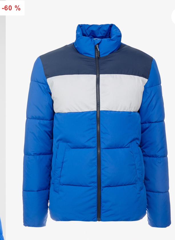 Jack and Jones Jorknight Puffer Jacket now £22 sizes XS, S, M, XL @ Zalando Free Delivery