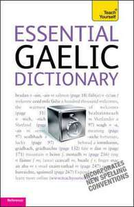 Essential Gaelic Dictionary £11.33 @ Blackwell