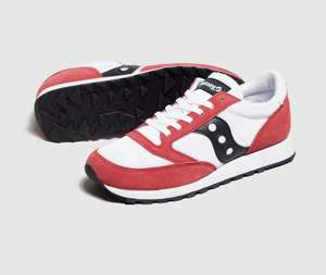 Saucony Jazz OG trainers now £27.00 sizes 6 up to 12 @ Size? Free c&c or £3.95 p&p