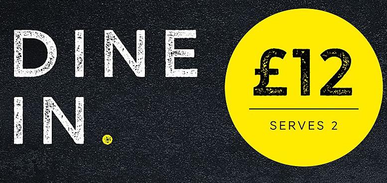 Marks & Spencer 2 Dine in for £12