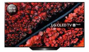 "LG OLED55B9PLA 55"" (2019) OLED HDR 4K Ultra HD Smart TV + Free 4K Blu-ray + 5 Years Warranty - £999 delivered @ RGB Direct"