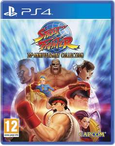 Street Fighter 30th Anniversary Collection (PS4) £10.85 Delivered @ Base