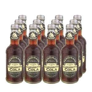12 x 275ml Fentimans Curiosity Cola - £9.96 at Amazon Prime (+£4.49 non-Prime)