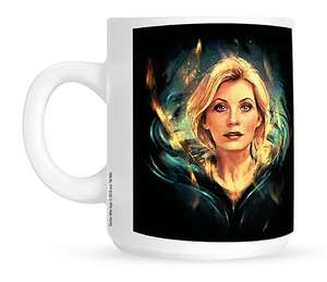 Doctor Who: Mug: 13th Doctor: AXZ Collectable Merchandise Cup - £1.99 Delivered @ Forbidden Planet