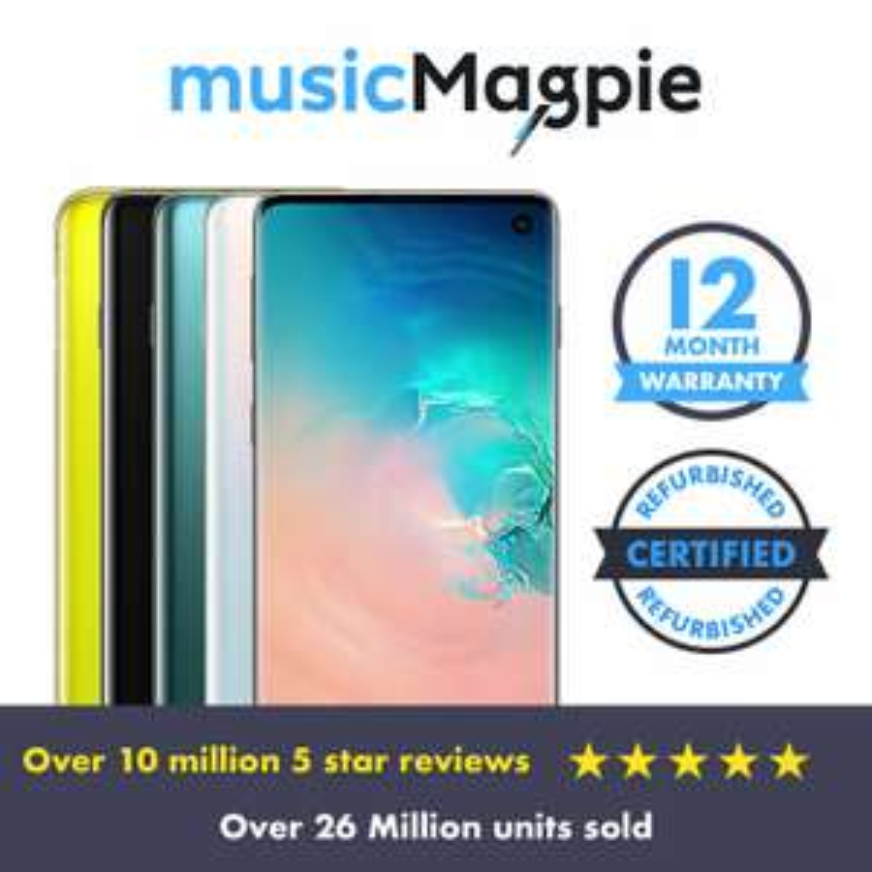 Unlocked Seller Refurbished Samsung s10e £335.99 @ ebay / musicmagpie