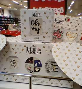 Disney Minnie Mouse gift set/mug/2 note books/stickers - £2 Instore @ Primark (Worcester)