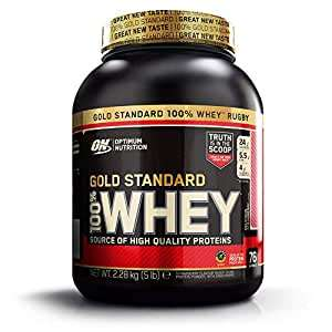 Optimum Nutrition Gold Standard Whey Delicious Strawberry, 74 Servings, 2.27 kg - £24.99 / £23.74 s&s / £17.74 first subscription @ Amazon