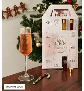 12 Days Cocktail Advent - New Look for £5 (£2.99 C&C)