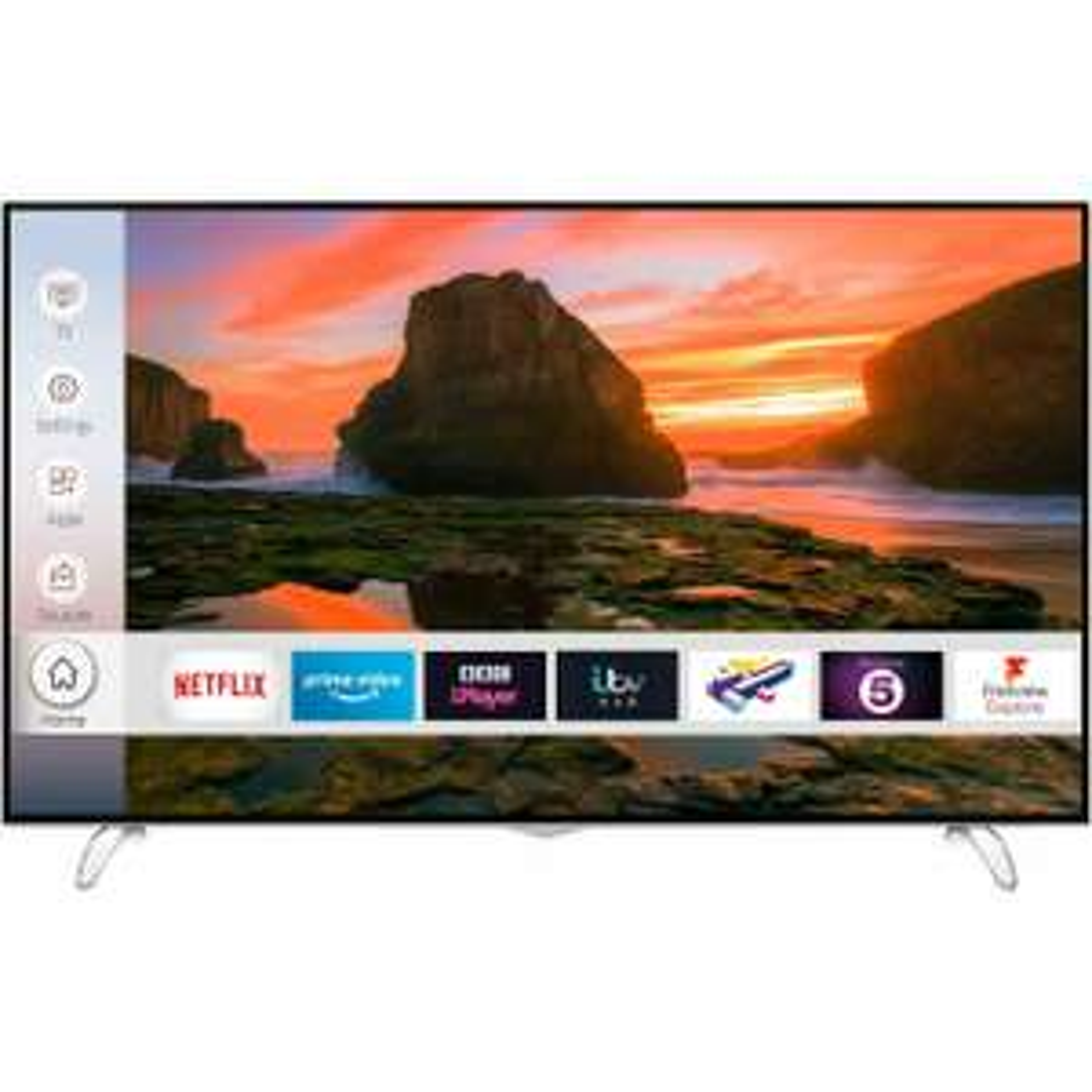 Techwood 65AO8UHD 65 Inch TV Smart 4K Ultra HD LED Freeview HD 3 HDMI WiFi at ao.com/ebay for £399