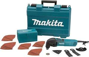 Makita TM3000CX4 240 V Multi Tool with Accessories in a Carry Case for £75 delivered @ Amazon