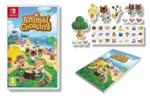 Animal Crossing New Horizons + Notepad and Stickers (Nintendo Switch) £39.99 Smyths Toys