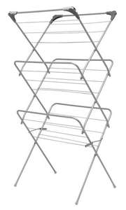 Addis 3 Tier Airer with Hooks for £8.99 @ Robert Dyas (Free click & collect)