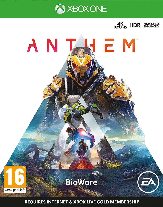 Anthem (Xbox One) for £3.49 (Prime) / £7.98 (Non Prime) delivered @ Amazon