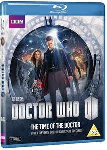 Doctor who - the time of the doctor & other eleventh doctor Christmas specials blu ray £6.95 @ Amazon prime (£2.99 p&p non prime)