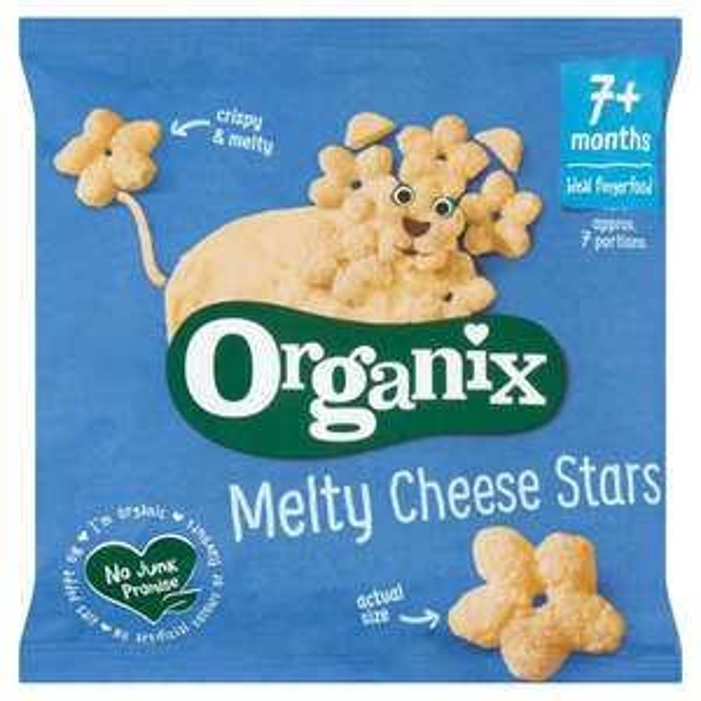 Free Organix Melty Veggie sticks 15g or Puffs 20g Range with code @ Sainsburys Online Groceries