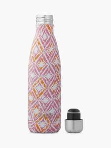 S'well Odisha Vacuum Insulated Drinks Bottle, 500ml, Pink/Multi £17.50 + £2 Click & Collect John Lewis & Partners