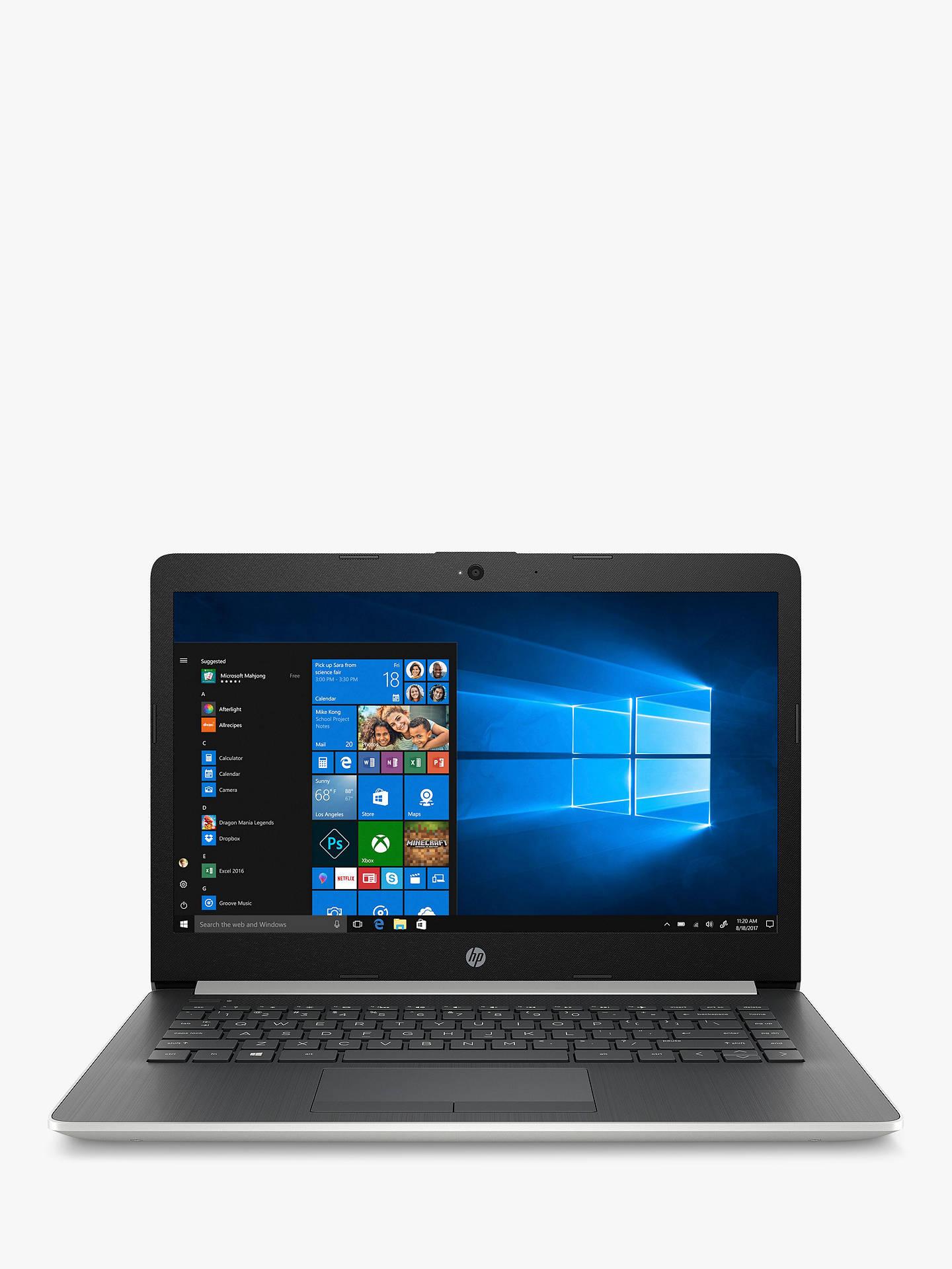 "HP Laptop, Ryzen 3 with Vega3 graphics, 4GB RAM, 128GB SSD, 14"" IPS - £299.95 at John Lewis and Partners"