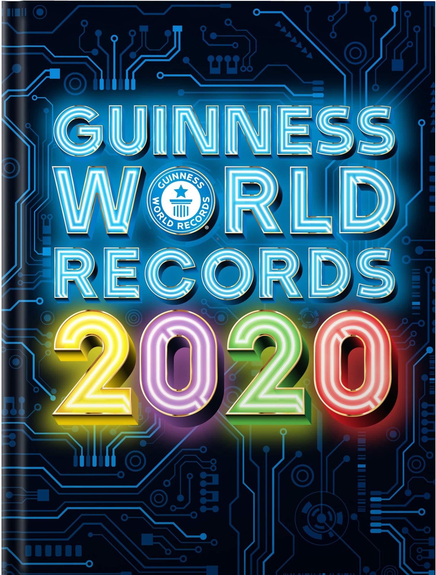 Guinness World Records 2020 (Hardcover) £3 prime / £5.99 non prime @ Amazon
