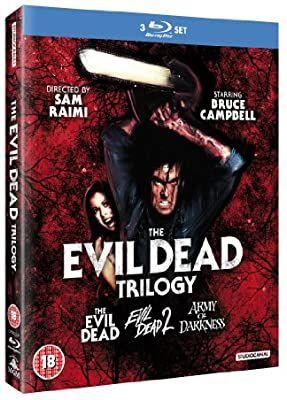 Evil dead trilogy blu ray £12 @ Amazon (£2.99 p&p non prime)