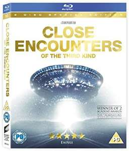 Close encounters of the third kind special edition blu ray £5.27@ Amazon (£2.99 p&p non prime)