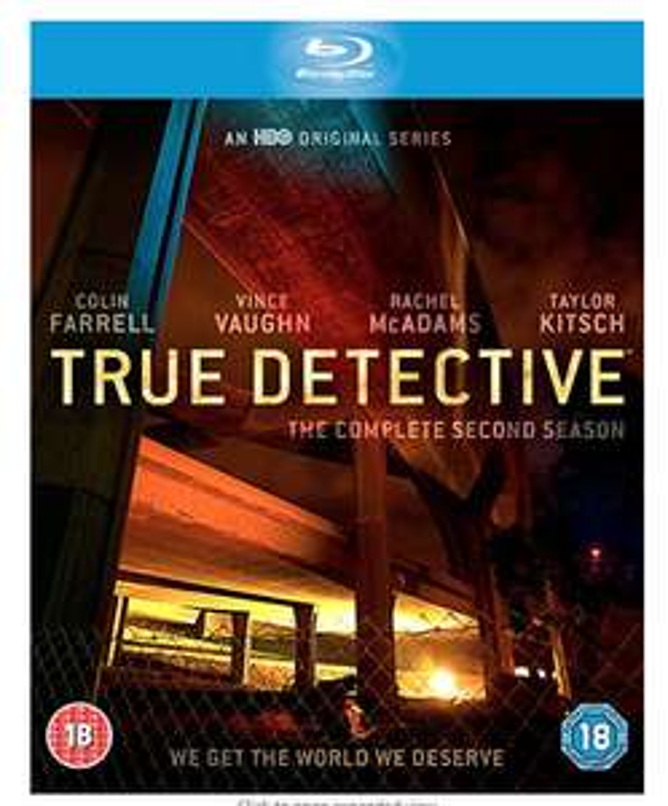 True detective season 2 blu ray £4.60 @ Amazon prime (£2.99 p&p non prime) sold by harribella/fulfilled by Amazon