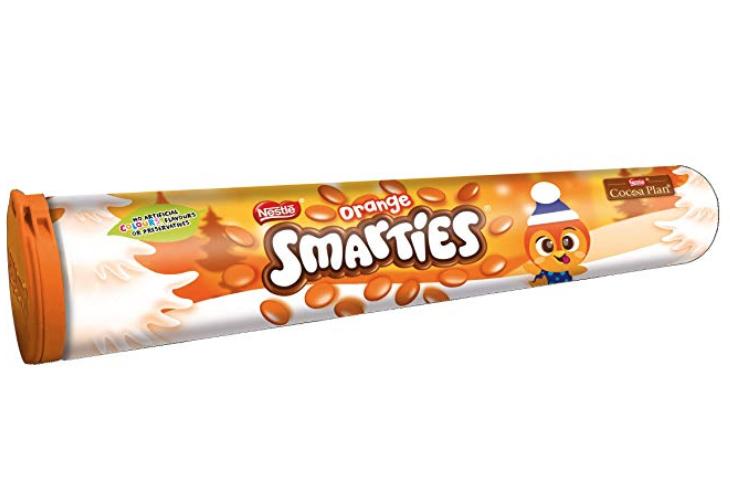 Smarties Orange tube 50p @ Wilko, Biggleswade, Bedfordshire