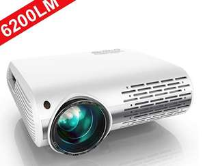 YABER 6200 Lumens 1080P HD LED Projector £152.74 w/voucher @ Sold by Beauty Dress Family and Fulfilled by Amazon