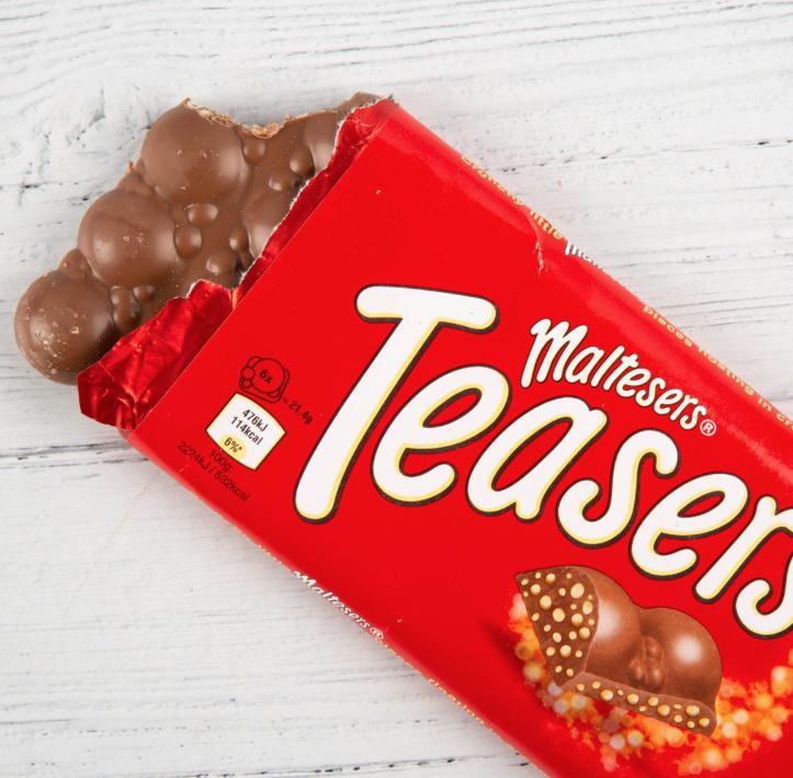 Maltesers Teasers 100g Bar 79p @ Heron Foods instore Notingham