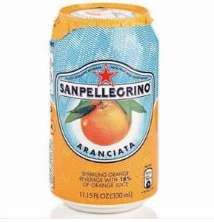 Sanpellegrino orange cans 330ml - 29p each in-store @ Quality Save Prestwich