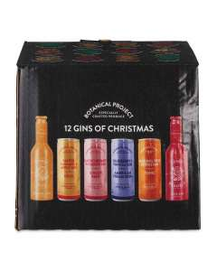 Aldi 12 gins of Christmas reduced to £5.29