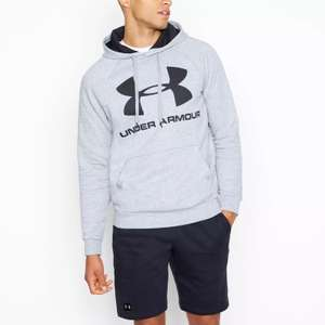 Under Armour Rival' Hoodie in Light Grey, Grey or Navy (was £45) Now £22.50 + Free Click & Collect @ Debenhams