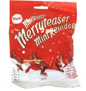 MerryTeaser 59g 25p, Lindt orange 200g £2.60 and other chocolatey goodness reduced in co-op Swansea