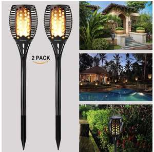 Gogomy Solar Powered Garden Lights (2 Pack) £19.03 prime / £23.52 Sold by Bigeagle EU and Fulfilled by Amazon