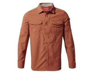 Craghoppers NosiLife Adventure II long-sleeved shirt for £32.49 click & collect @ Hawkshead