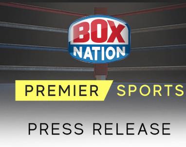 premier sports / boxnation team up £12.99 p/m