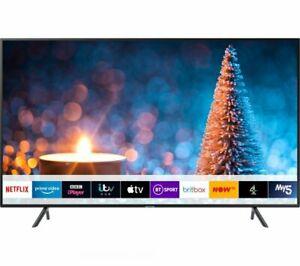 "Samsung UE55RU7100 (2019) HDR 4K Ultra HD Smart TV 55"" with TVPlus Black £303.99 at xsitems_ltd/ebay with code"