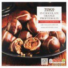 Tesco Chocolate Orange Profiteroles 270G £1 Clearance Price @ Tesco Express Hemel Hempstead