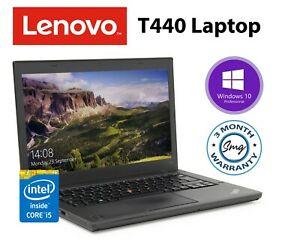Refurb Grade C Lenovo Thinkpad T440 Laptop i5-4300U 500GB HDD 4GB RAM £86.70 / 8GB RAM £100.63 with code @ Stockmustgo ebay