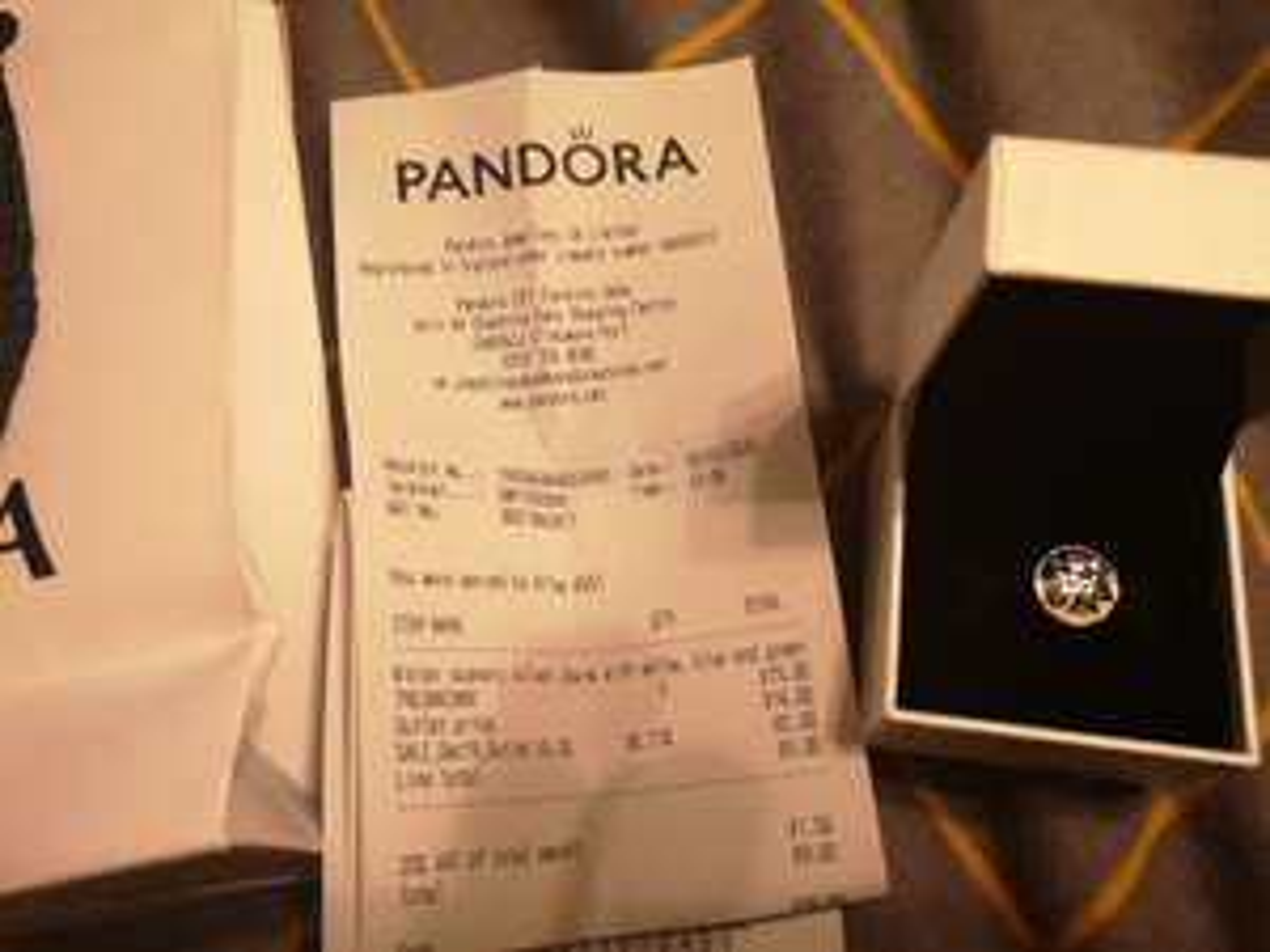 Pandora Winter Wonderland Charm, Cheshire Oaks Outlet Shop - £9