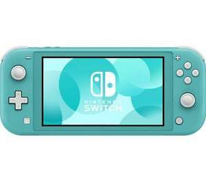 Opened – never used - NINTENDO Switch Lite - Turquoise - Currys / Ebay £143 with code