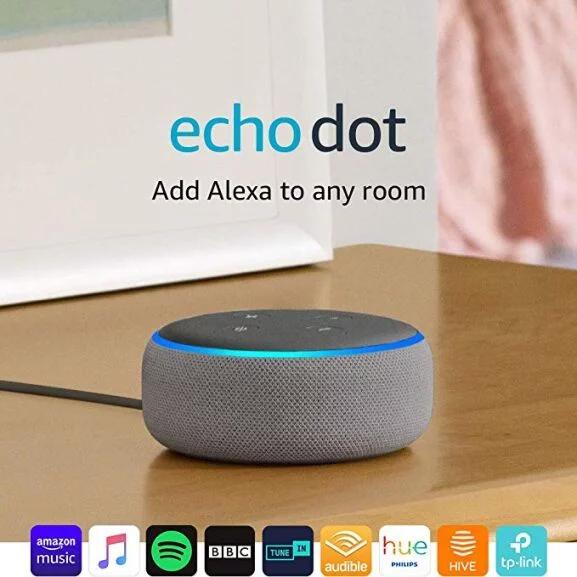 Amazon Echo Dot (3rd Gen) Smart Speaker with Alexa - Black/Grey £24 delivered @ AO