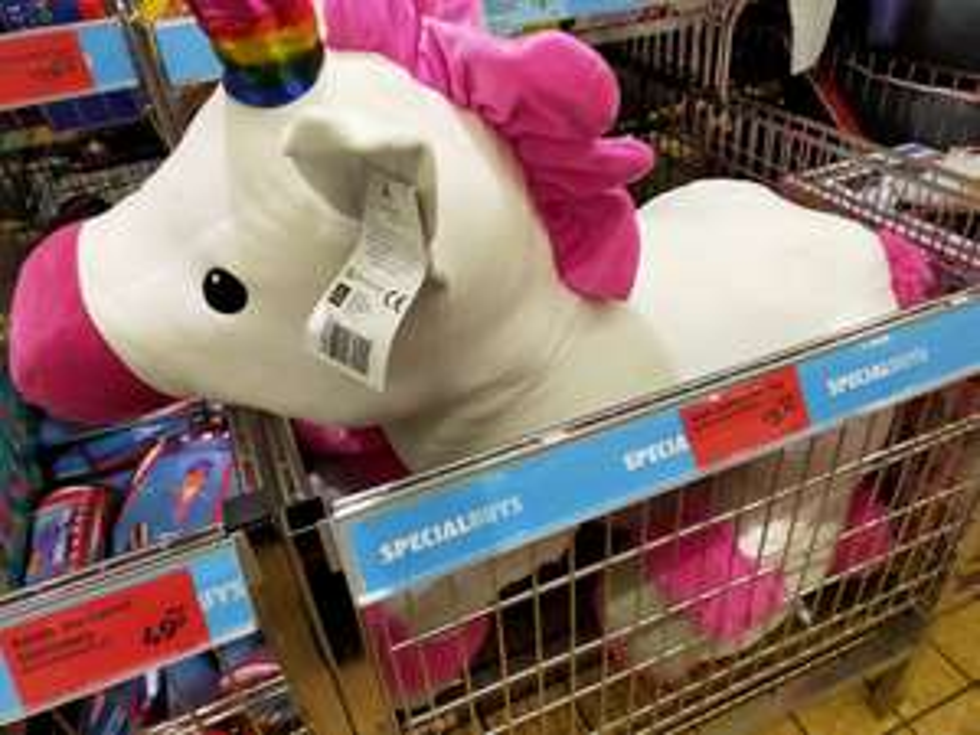 Massive unicorn £5.99 @ Aldi Birchwood