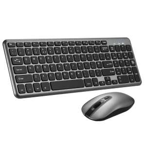 Patuoxun Ergonomic Wireless Keyboard and Mouse Set £11.55 - Sold by MicroYep UK and Fulfilled by Amazon.