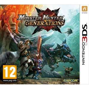 Monster Hunter Generations (Nintendo 3ds/2ds) - £7.95 delivered @ The Game Collection